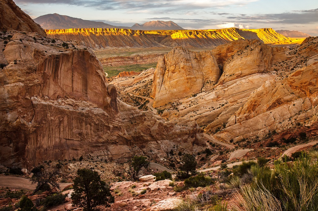 Burr Trail Road, Capitol Reef